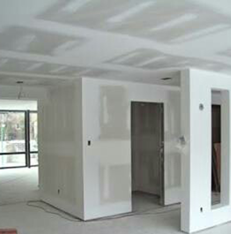 Wall Gypsum Partition Job Finished